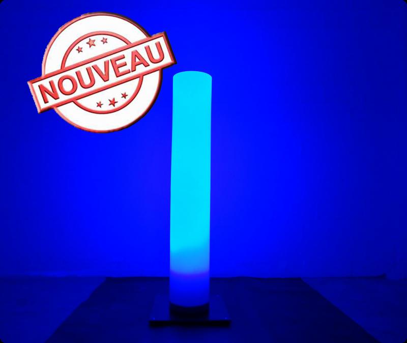 louer colonne lumineuse led qui change de couleur sur batterie eclairage projecteurs led. Black Bedroom Furniture Sets. Home Design Ideas